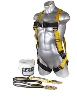 Guardian Fall Protection 00870 Li'l Bucket of Safe-Tie with