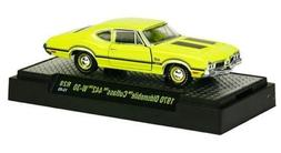 New 1:64 Detroit Muscle Release 28 1970 Yellow OLDSMOBILE YL