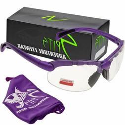1.75 Bifocal Safety Glasses Bottom Magnifier Pick Frame & Le