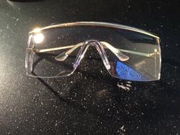 1 Pr.  Crews 99110 Excalibur Metal Safety Glasses Clear Lens
