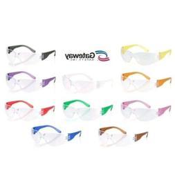10 Gateway Starlite Safety Glasses - Gumballs SM 3699 - Mult