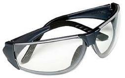 MSA 10070917 Easy-Flex Safety Glasses, Gray Frame, Clear Len