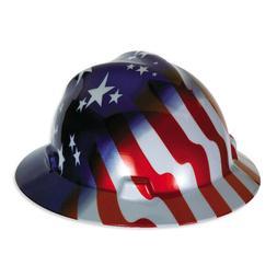 MSA 10071157 Full Brim V-Gard Hard Hat W