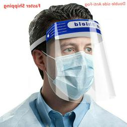 10x Full Face Covering Anti-fog Safety Shield Tool Clear Gla