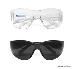 12 144 PAIR JORESTECH CLEAR/SMOKE UV LENS LOT SAFETY GLASSES
