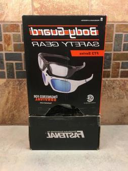 12 new pairs safety eyewear black frame