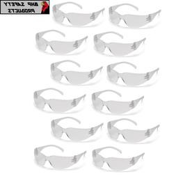 PYRAMEX INTRUDER CLEAR LENS SAFETY GLASSES SPORT WORK EYEWE