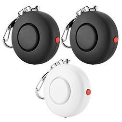 ANRUI 3-PACK 120dB Personal Alarm, SOS Emergency Keychain Sa