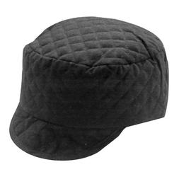 Jackson Safety 14580 Black Cotton Quilted 365 Shop Cap, 7-3/