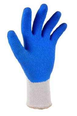 G & F 1630 Heavy Duty Rubber Latex Coated Work Gloves for Co