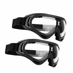 GUSTYLE 2 Pack Children's Safety Glasses with Wind Resistanc