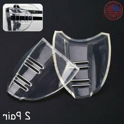 2 Pairs Side Shields for Eye Glasses Slip On Safety Glasses