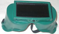Gateway 2 x 4 1/4 Gas Welding Safety Goggles Shade 5 Fixed L