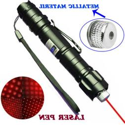 200Miles High Power 650nm Red Laser Pointer Military Beam La