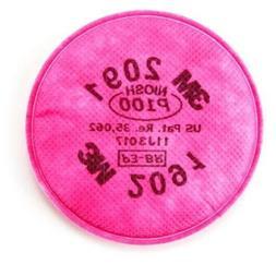 3M 2091 NIOSH P100 Particulate Filter - 2 Count Made In U.S.