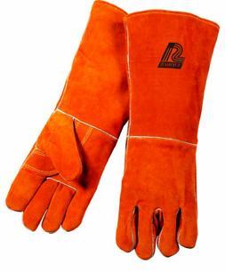 Steiner 21918-X Welding Gloves, Brown Y-Series 18-Inch Lengt