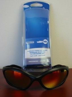 Miller 235658 Black Frame 5.0 Lens Form Fitting Orbital Safe