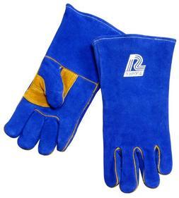 Steiner 2519B-S Welding Gloves, Blue B-Series, Side Split Co
