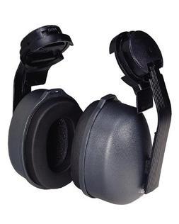 Tasco 2800 Sound Shield Cap Mounted Earmuffs, NRR=28, Black