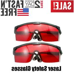 2PCS Laser Eye Protection Safety Glasses Goggles for UV Lase