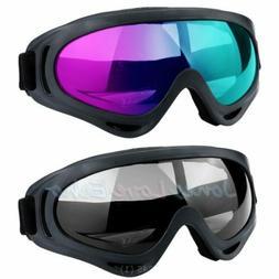 2Pack Outdoors Ski Goggles Double UV400 Anti Fog Dust Wind U