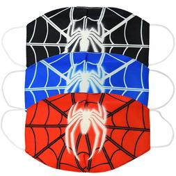 2PC Spiderman Kids&Adult Mouth Face Dust-proof breathable an
