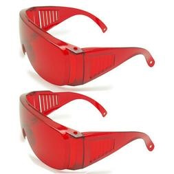 2pcs Eye Protective Safety Goggles Glasses Laser Protection