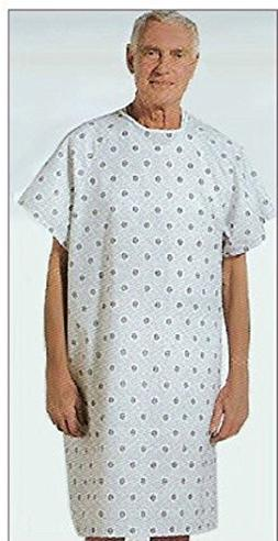 3 New 52x42 Hospital Patient Gown Medical Exam Gown Economy