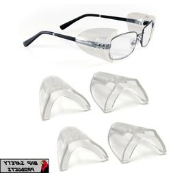 3 PAIR PYRAMEX SS100 FLEXIBLE CLEAR SIDE SHIELD FOR SAFETY G