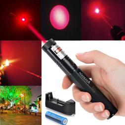 300 Miles 650nm Red Laser Pointer Pen Visible Beam Light Laz