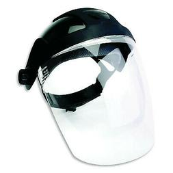 Sellstrom S32210 Clear Anti-Fog Polycarbonate Faceshield wit