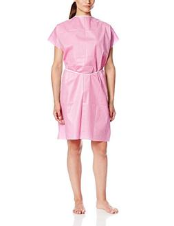 ValuMax 3510RB Disposable Patient Gown, No See Throught, Tea