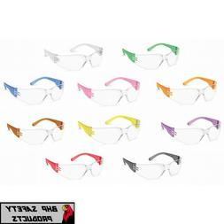 GATEWAY 3699 GUMBALLS CLEAR LENS SAFETY GLASSES MULTICOLOR F