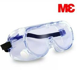 3M Vrown Protective Goggles Safety Work Lab Eye Protection A