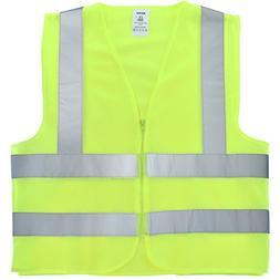 Neiko 53940A High Visibility Safety Vest, ANSI/ ISEA Standar