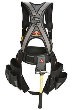 Super Anchor Safety 6151-SM Deluxe Full Body Harness plus Al