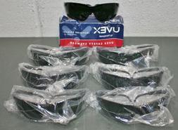 Honeywell Uvex Genesis Safety Glasses S3208, Green Shade 5.