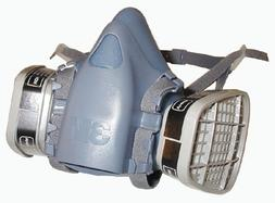 3m 7500 Series Respirator Half Facepiece Kit With Filters La