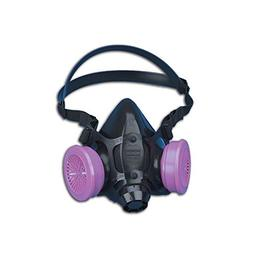 North Safety 7700 Series Half Mask Respirators, Large
