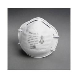 8200 3M N95 Particle Respirator 8200 Mask - Standard - 20/ B