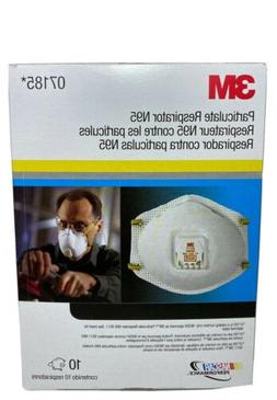 3M 8511 Particulate Sanding Respirator N95 With Valve 10 Pac