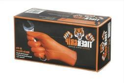 Eppco 8846 Tiger Grip Orange Nitrile Gloves - XXL