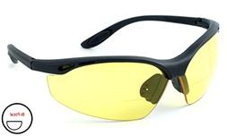 Calabria 91348 Bi-Focal Safety Glasses UV Protection in Yell