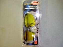AOSafety 97139 Dual Yellow Lens Shooting Safety Glasses