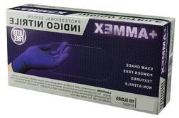 AMMEX - AINPF44100 - Medical Nitrile Gloves - Disposable, Po