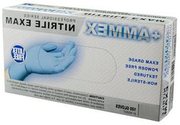 AMMEX - APFN48100-BX - Medical Nitrile Gloves - Disposable,