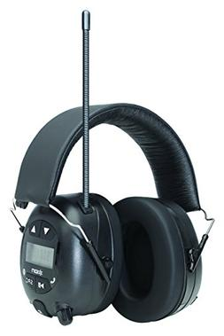 ION Audio Tough Sounds Hearing Protection Headphones with Bl