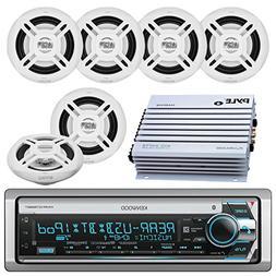 Kenwood Bluetooth CD MP3 USB AUX AM/FM Marine Boat Stereo Re