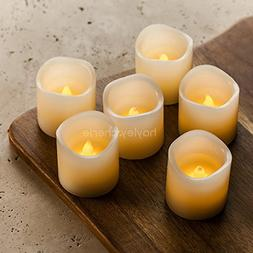 "Hayley Cherie - LED Wax Candles with Timer  - Flameless 2"" x"