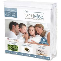 Queen Size SafeRest Classic Plus Hypoallergenic 100% Waterpr